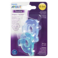Avent - Soothie Shapes 0-3 Months - Bear, 2 Each