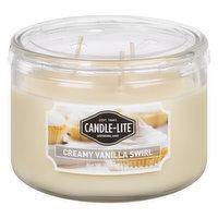 Candle-Lite - Candle Lite Crmy Vnl Swrl Jar Candle