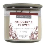 Candle-Lite Company - Candle Lite Essn Elm Mhogny & Vetiver, 418 Gram