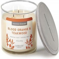 Candle Lite Candle Lite - Essential Elements Candle Blood Orange Thickwood, 1 Each