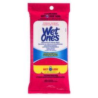 Wet Ones - Hand & Face Wipes Antibacterial - Fresh Scent
