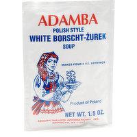 Adamba Polish Style White Borsch-Zurek Soup is delicious and easy to make.