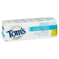 Tom's Of Maine - Clean & Fresh Toothpaste - Fennel