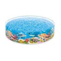 Intex - Deep Blue Sea Snapset Pool 8FTx18IN, 1 Each