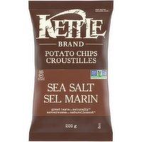Kettle - Potato Chips -Sea Salt, 220 Gram
