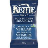 Kettle - Potato Chips - Sea Salt & Vinegar, 220 Gram
