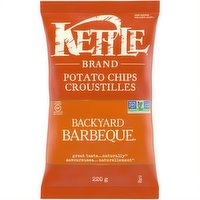 Kettle - Potato Chips- Backyard Barbeque, 220 Gram