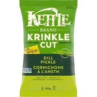 Kettle - Krinkle Cut Dill Pickle Chips, 220 Gram