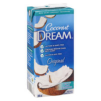 Non Dairy Coconut Beverage. Lactose Free, Source of Fibre, 100% Vegetarian. Probiotic Made from Real Coconuts.