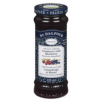 St. Dalfour - Cranberry With Blueberry Spread, 225 Millilitre