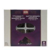 Natural Delights - Medjool Dates, Dark Chocolate Covered with Sea Salt, 227 Gram