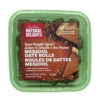 Natural Delights - Date Rolls - Pecan Pumpkin Pie Spiced, 340 Gram