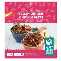 Happy Veggie Happy Veggie - Vegan Ginger Chick'n Bliss, 300 Gram