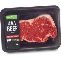 Western Canadian - Striploin Grilling Steak, Fresh, 600 Gram