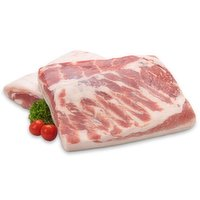 Frozen - Pork Belly Boneless and Skinless, 1 Pound