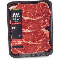Western Canadian - Striploin Grilling Steak, Fresh Family Pack, 950 Gram