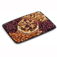 48 hour Prep Time Required for Party Platters. Limit 10 Per Order. One Brie Round with your Choice of Sweet or Savoury Toppings: Sundried Tomatoes, Olives, Black, Garlic Stuffed Olive, Pickled Onion, Red Peppers, dried Cranberries. walnuts almonds
