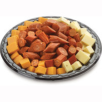 48 hour Prep Time Required for Party Platters. Limit 10 Per Order. Bite Size Savoury Snacks of Cubes of Havarti & Cheddar Cheese and Sliced Pepperoni. Serves 1-2 People.