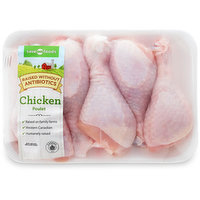 Western Canadian - Chicken Drumsticks Skin On. Fresh