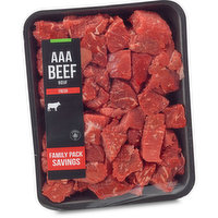 Western Canadian - Boneless Stewing Beef, Fresh Family Pack
