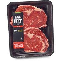 Western Canadian - Boneless Rib Eye Grilling Steak, Fresh Family Pack, 800 Gram