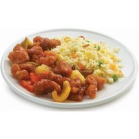 Deli-Cious - Sweet and Sour Pork with Fried Rice, 1 Each
