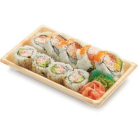 9 pieces small size sushi combo.
