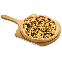Napoli style pizza crust with flavours of zesty tomato garlic sauce, pineapple, fire roasted vegetables & pizza cheese blend.
