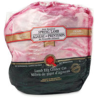 Boneless Lamb Leg Center Cut. - Fresh Cryo Vacum Pack