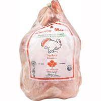Turkey - Whole Certified Organic, Frozen 5-7 kg, 7 Kilogram