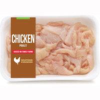 Western Canadian - Chicken Breast Stir Fry Trim, Fresh, 350 Gram