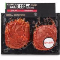 Western Family - Top Sirloin Grilling Steak, Peppercorn Marinated, 650 Gram