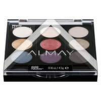 9 shades in 1 palette, use wet for more POP! Layer, blend and mix for limitless looks. Hypoallergenic, suitable for sensitive eyes & contact lens wearers. Includes dual ended applicator. 4.5g