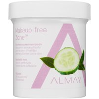Botanical blend of aloe, cucumber and green tea sweeps away makeup without irritation.