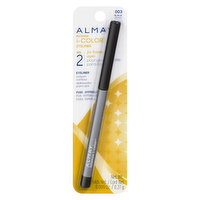 0.27g. Almay Intense i-Colour Gel Smooth Eye Liner has the bold look of a liner. The control of a pencil glides on easily.