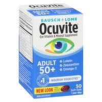 Bausch & Lomb - Ocuvite Eye Vitamin & Mineral Supplement Adult 50+, 50 Each