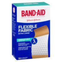 Band-Aid Band-Aid - Flexible Fabric Bandages Knee Elbow X-Large, 10 Each