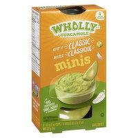Wholly Wholly - Guacamole Minis Mild, 4 Each
