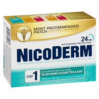 Nicoderm - Stop Smoking System Step 1