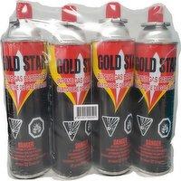 Gold Star - 4 Butane Gas Cartridges, 4 Each