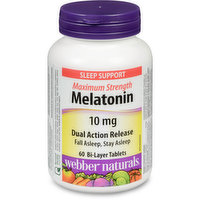 Webber Naturals - Melatonin Max Strentgh - DA Release 10mg