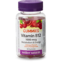 Helps prevent vitamin B12 deficiency & support energy metabolism. Supports red blood cell production & normal immune function. Free of gelatin, gluten, & dairy. Suitable for vegetarians & vegans.
