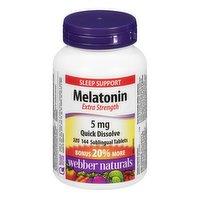 Webber Naturals - Melatonin Ext Strength 5mg