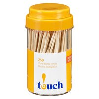 Natural Round Toothpicks.
