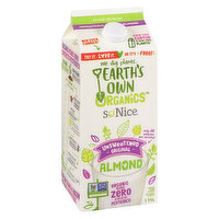 So Nice - Organic Fortified Almond Beverage - Unsweetened