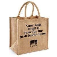 Urban Fare Urban Fare - Jute Tote Bag - Grill Knob, 1 Each