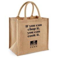 Urban Fare Urban Fare - Jute Tote Bag - Chop It, 1 Each