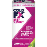 Cold Fx - Daily Defence Natural Non Drowsy, 150 Each