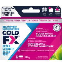 Cold-FX - Extra On the Go Pack, 12 Each