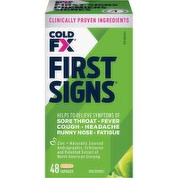 Cold-FX - First Signs Capsules, 48 Each
